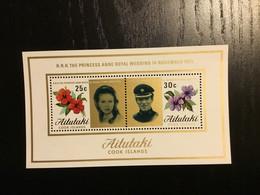 Aitutaki Y&T BF1 **/MNH - Aitutaki