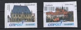 BRD   Citypost  Rathaus Osnabrück  Schloss Iburg - Private & Local Mails