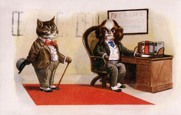Fire & Life Insurance. 1934. - Humour