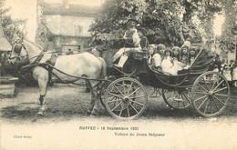 RUFFEC SEPTEMBRE 1921 VOITURE DU JEUNE SEIGNEUR - Ruffec