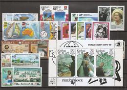 Kiribati ( Lot De Timbres Divers Différents XXX -MNh ) - Kiribati (1979-...)