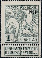 [** SUP] N° 92/99, '1911', La Série Complète - Fraîcheur Postale - Cote: 2535€ - 1910-1911 Caritas