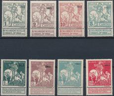 [* TB] N° 92/99, '1911' - Cote: 455€ - 1910-1911 Caritas