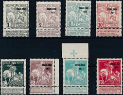 [** SUP] N° 100/07, 'Charleroi 1911', La Série Complète - Fraîcheur Postale - Cote: 310€ - 1910-1911 Caritas
