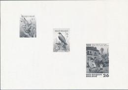 [(*) SUP] N° 2244+2246+2263, Le Feuillet Noir Et Blanc - Cote: 150€ - Zwarte/witte Blaadjes