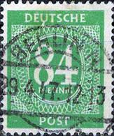 2259 Mi.Nr.936 Alliierte Besetzung Gemeinschaftsausgabe (1946) Kontrollratsausgabe Gestempelt - Zona AAS