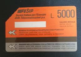 Scheda Telefonica SIP - Collezioni