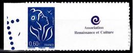 Personnalisé - Marianne De Lamouche Bleu 2006 - 0,60 - Grande Vignette - Y&T N° 3966A - Personalized Stamps