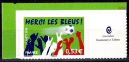 Personnalisé - Merci Les Bleus - 0,53 - Vignette Entreprise - Y&T N° 3936B - Personalized Stamps