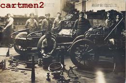 CARTE PHOTO : LYON GARAGE CHRISTY § MEDECET  151-163 AVENUE DE SAXE ATELIER AUTOMOBILE BOLLACHE & LAROQUE CAR VOITURE - Unclassified