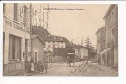 Carte De CUBLIZE  La Poste Et L' Hospice ( Attention Pliure à Droite ) - Autres Communes