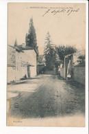 Carte De MONSOLS Route De Saint Igny De Vers - Altri Comuni