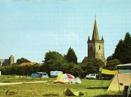 CPM CARTERET(50) Camping Le Bocage  Non Ecrite Voitures( 2 CV) - Carteret