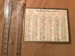 1932 Calendrier De Poche Au Bon Marché - Formato Piccolo : 1921-40