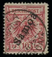 German Samoa 1900 Overprinted 10pf Carmine Used, Minor Thin Point Otherwise Fine, MiNr. 3 - Kolonie: Samoa
