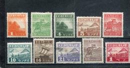 Philippines 1943 Yt 15-20 22 24-26 Occupation Japonaise - Filipinas