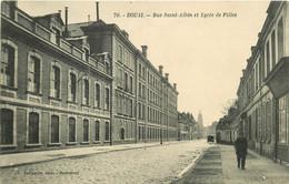 59 DOUAI. Lycée De Filles Rue Saint-Albin - Douai