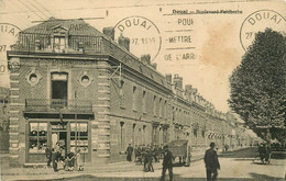 59 DOUAI. Tabac Buvry Boulevard Faidherbe 1927 - Douai