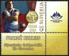 Slovenia 2008 - Mi 693 - YT 628 ( Beijing Olympics : Hammer Throw ) MNH** - Slowenien