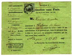 49317 - NAPOLEON  1 C Non Lauré - 1849-1876: Klassik