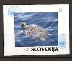 SLOVENIA 2014,TURTLE,,MNH - Slovenia