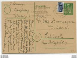 """222 - 89 -  Entier Avec Timbre """"Notoper"""" Berlin"""" - Cartes Postales - Oblitérées"""