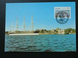 Carte Maximum Card Bateau Ship Aland Ref 61686 - Aland