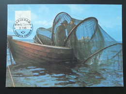 Carte Maximum Card Bateau Ship Pêche Fishing Aland Ref 61688 - Aland
