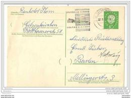 77 - 89 - Entier Postal Envoyé De Gelsenkirchen - Oblitération Mécanique Illustrée - Cartes Postales - Oblitérées