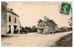 Grazay Route De La Chapelle Au Riboul Et Route De Bais , Café Gault épicerie5ier - Autres Communes