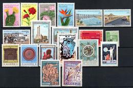 W-19 Algérie  N° 484 à 502 ** . A Saisir  !!! - Algeria (1962-...)