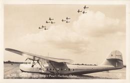 "CPA - Hydravion Martin M 130 "" China Clipper "" - Compagnie Pan Américan Airways à Pearl Harbor ( Oahu Hawaï ) - 1919-1938: Entre Guerres"