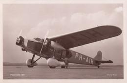 """CPA - Fokker XII """" Havik """" - Compagnie KLM Royal Dutch Airlines - 1919-1938: Between Wars"""