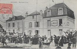 SOISSONS -  1905 -  BRASSERIE DE CIDRE A. MOLIN -  RUE PORTE CROUY - Soissons