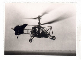 PHOTO AVION  AVIATION HELICOPTERE A IDENTIFIER - Aviación