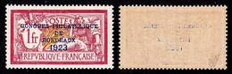 France N° 182 Neuf  ** Centrage Parfait - Certificat Calves - Cote 1387 Euros - Qualité LUXE - Nuevos