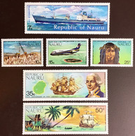 Nauru 1974 First Contact With Outside World Anniversary MNH - Nauru