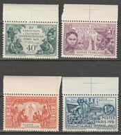 Guyane N° 133 - 136 ** SUP Exposition Coloniale 1931 - Unused Stamps