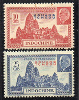 KOUANG-TCHEOU  ( POSTE ) : Y&T N°  138/139  TIMBRES  NEUFS  AVEC  TRACE  DE  CHARNIERE . A  SAISIR . - Unused Stamps
