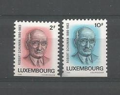 Luxemburg 1986 Grand-Duc Jean Lowerside Imperf. Y.T. 1106/1107 ** - Nuovi