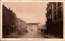 ++ [57] Alte Ansichtskarte Petite Rosselle, Tramway - Otros Municipios