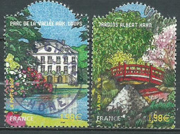 France N° 3895 - 3896   Obl. - Used Stamps