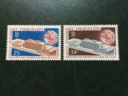 Saint-pierre-et-Miquelon, N°399 Et 400 Neufs**, TB , Cote 43€., Voir 2 Scans. - Unused Stamps