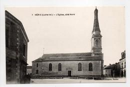 - CPA HÉRIC (44) - L'Eglise, Côté Nord - Edition Chapeau N° 7 - - Autres Communes