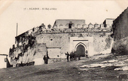CPA   MAROC--AGADIR---EL BAB EL KEBIR---1915 - Agadir