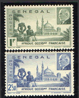 SENEGAL  ( POSTE ) : Y&T N°  177/178  TIMBRES  NEUFS  SANS  TRACE  DE  CHARNIERE . A  SAISIR . - Unused Stamps