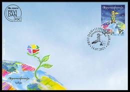 Serbia 2021 Francophonie, France, World, Le Petit Prince, FDC, MNH - Verhalen, Fabels En Legenden