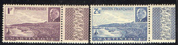 MARTINIQUE  ( POSTE ) : Y&T N°  189/190  TIMBRES  NEUFS  SANS  TRACE  DE  CHARNIERE . A  SAISIR . - Ungebraucht