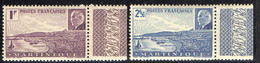 MARTINIQUE  ( POSTE ) : Y&T N°  189/190  TIMBRES  NEUFS  SANS  TRACE  DE  CHARNIERE . A  SAISIR . - Unused Stamps