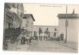1908 Rare Le COMPTOIR Du Boulevard Bar Restaurant à L'entrée De La Caserne GAZAN Antibes Juan Les Pins PLM Maillan 927 - Antibes